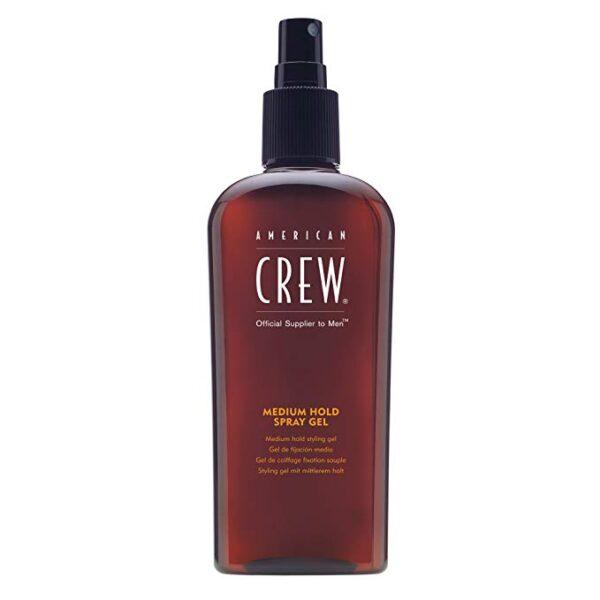 american crew medium hold spray gel 12